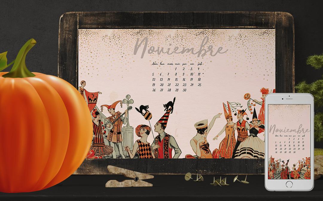 Wallpaper del mes de noviembre – Gratis